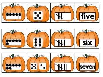 Fall Number Sorts