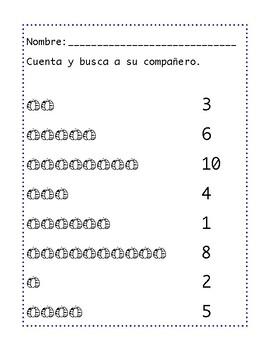 Fall Number vs Quantity 1-10