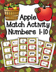 Fall Numbers 1-10 Match Activity Bundle