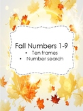 Fall Numbers 1-9