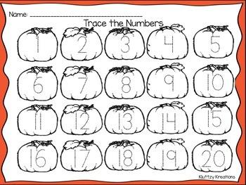 Fall Numbers