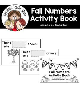 Fall Numbers Activity Book