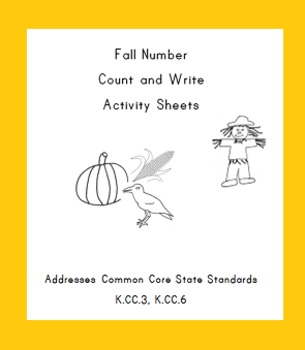 Fall Numbers Count and Write