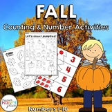 Fall Math - Numbers 1-10