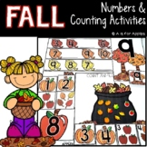 Fall Numbers and Counting Activities