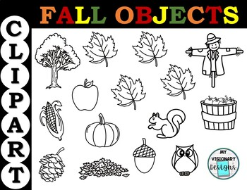 Fall Objects Clipart