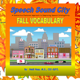 Fall-October-Halloween Articulation/Vocabulary by Speech S