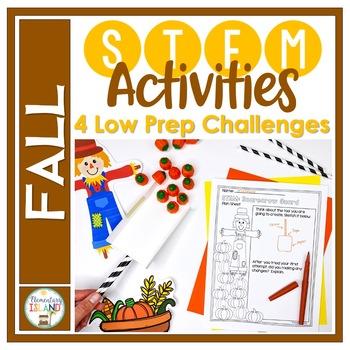 Fall October November STEM Engineering Challenges