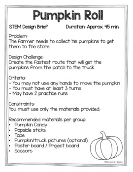 Fall October November STEM Engineering Challenges