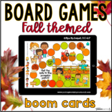 FALL Open Ended Digital Board Games | BOOM CARDS™