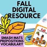 Fall | Open Ended Speech Language | Digital Resource