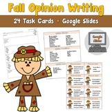 Fall Opinion Writing