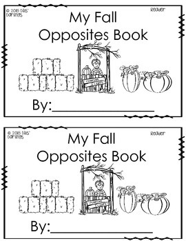 Fall Opposites Differentiated Reader