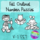 Fall Ordinal Number Puzzles