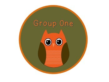 Fall Owl Group Signs 1-7