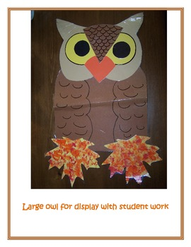 Fall Owl Project