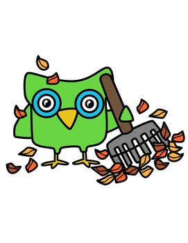 Fall Owls Clipart