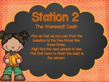 Fall P.E. Stations