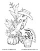 Fall Coloring Pages: Giddy-Up Fairytale Cowgirl