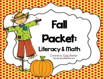 Fall Packet: Literacy & Math