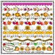 Fall Page Dividers - Clip Art