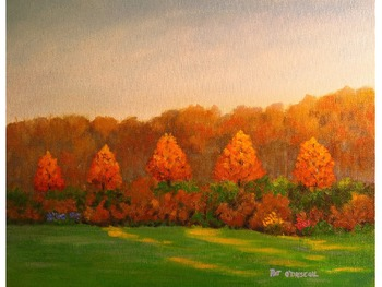 Fall & Painted Landscapes