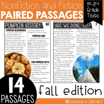 Fall Paired Passages