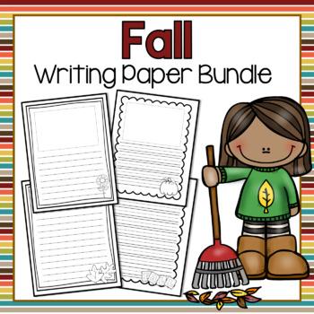 Fall Writing Paper Bundle