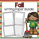 Fall Writing Paper Bundle