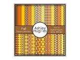 12x12 Digital Paper Set: Fall Collection {A Hughes Design}