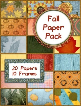 Fall Paper Pack