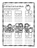 Fall Part-Part-Whole Addition/Subtraction Fact Families