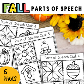 Parts of Speech: Fall Quilt