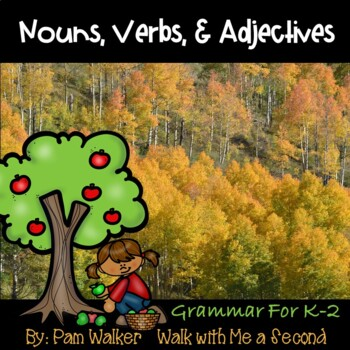 Fall Parts of Speech for K-2nd Grade