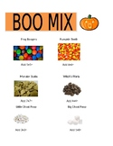 Fall Party Boo Mix