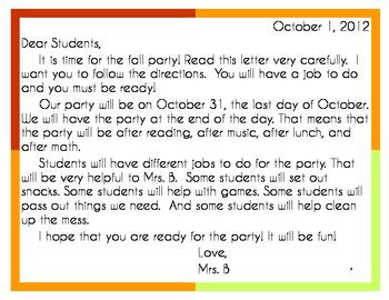 Fall Party Fun!