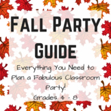 Fall Party Planning Guide -- Grades 4 - 8