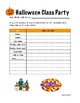 Fall Party Print-outs for Teachers