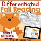 Fall Reading Comprehension Passages and Questions with Goo