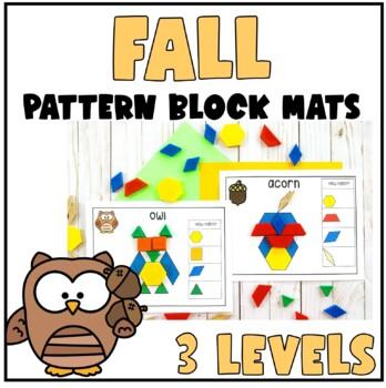Fall Pattern Block Mats
