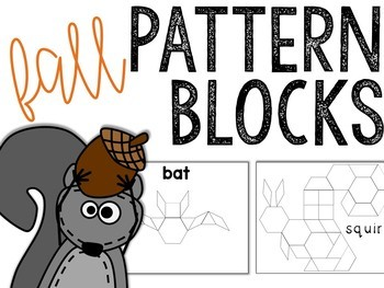 Fall Pattern Blocks Puzzles