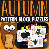 Fall Pattern Block Puzzles | Fall Pattern Block Challenge Cards