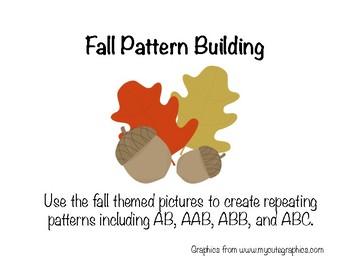 Fall Pattern Building