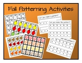 Fall Patterning Activities