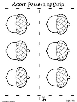 Fall Patterning Strips