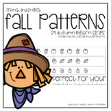 Fall Patterns for English and French Classrooms