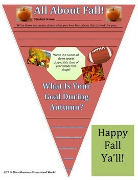 Fall Pennant for Your Students!