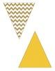 Fall Pennants Chevron, Dots & Stripes