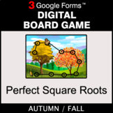 Fall: Perfect Square Roots - Digital Board Game | Google Forms