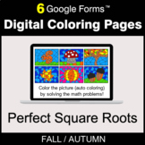Fall: Perfect Square Roots - Digital Coloring Pages | Goog